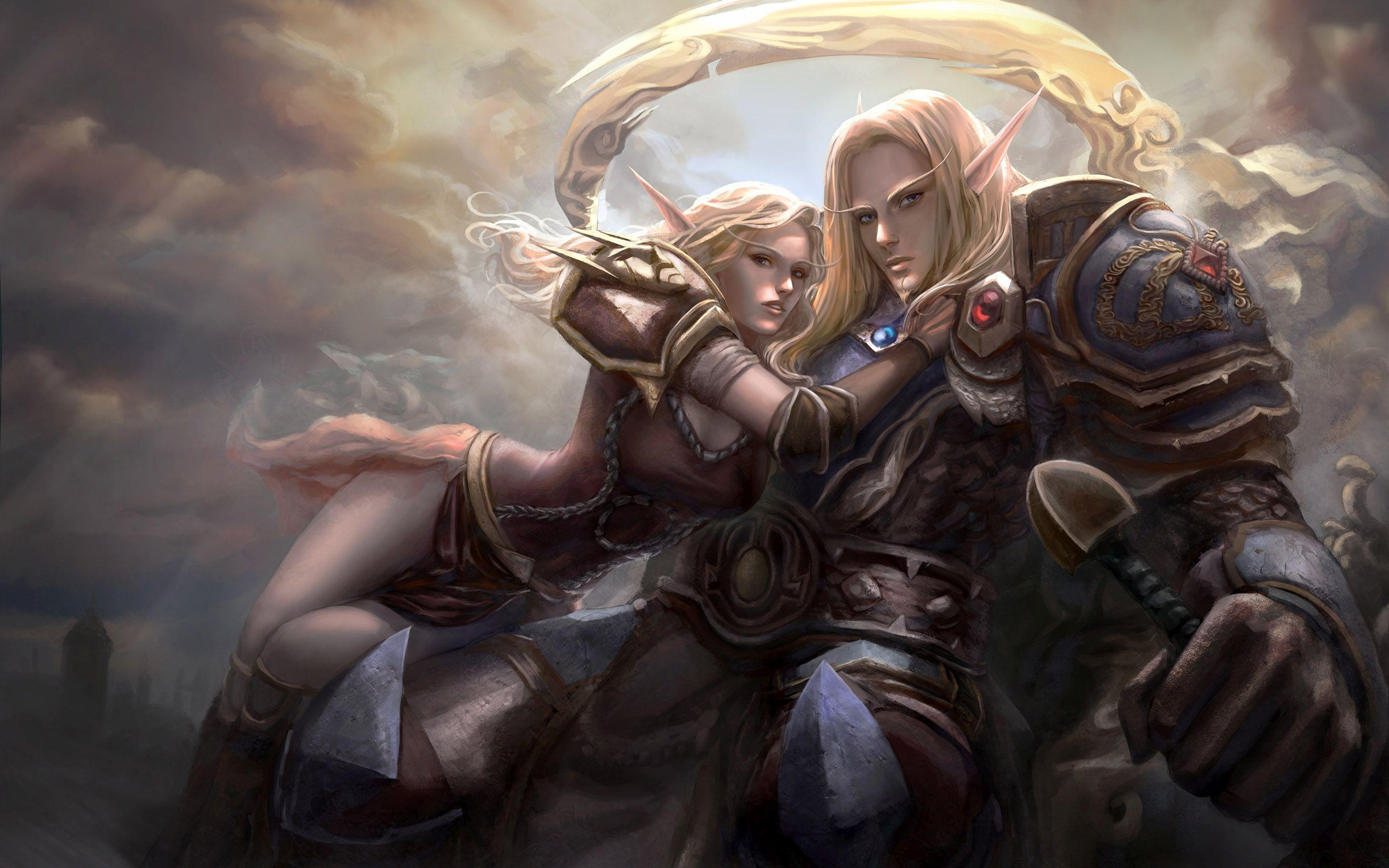 Good Night 3d Wallpapers Free Download Hd World Of Warcraft Elves Wallpaper Download Free 150029