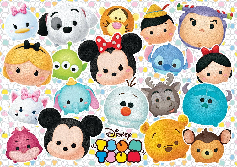 Chip And Dale Wallpaper Hd Puzzle Xxl Pieces Tsum Tsum Clementoni 23975 104 Pieces