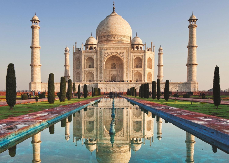 Taj Mahal Hd Wallpaper Puzzle Taj Mahal Jumbo 18545 1000 Pieces Jigsaw Puzzles