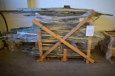Large lot rod locks for doors and windows - KJ Auktion - Machine
