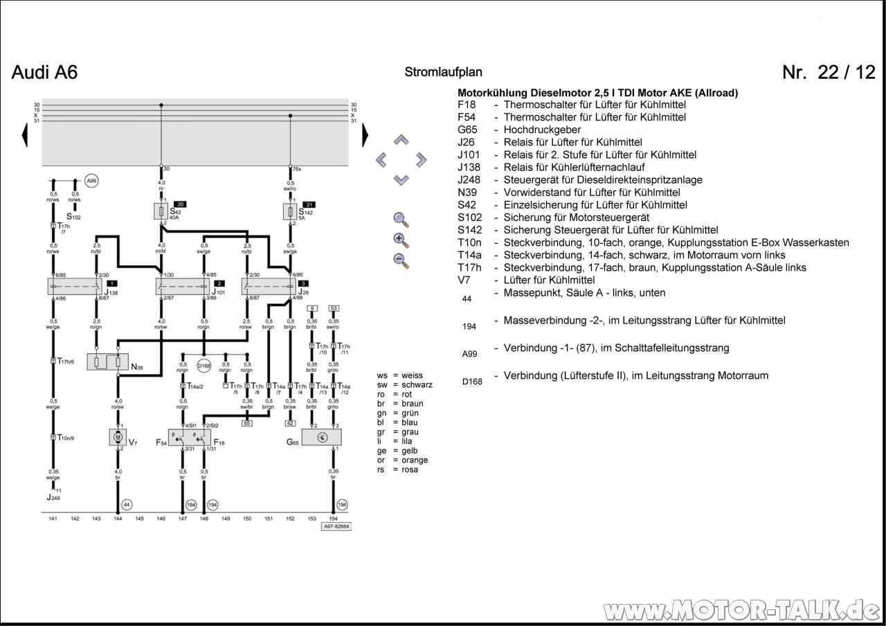 Stromlaufplan Mercedes W204