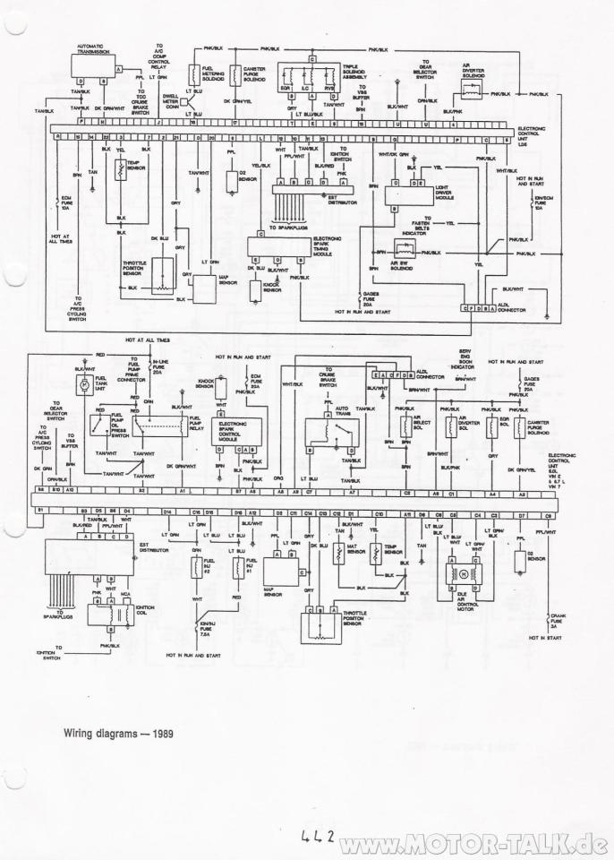 1989 chevrolet truck wiring diagram chevy tbi wiring switch to dual