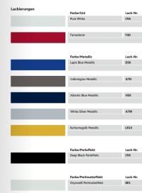 Farben : Golf VII Facelift 2016 : VW Golf 7 & Golf ...