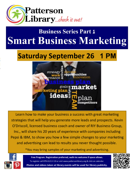 Business Series Part One Smart Business Marketing  Other - school -