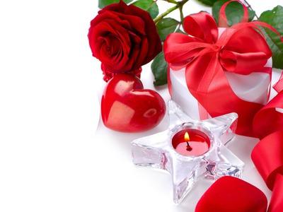 Photo montage corazones y rosas rojas - Pixiz