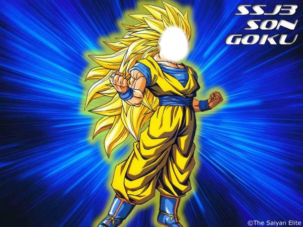 Goku Ssj Wallpaper Hd Montaje Fotografico Dragon Ball Z Goku Ssj 3 Pixiz