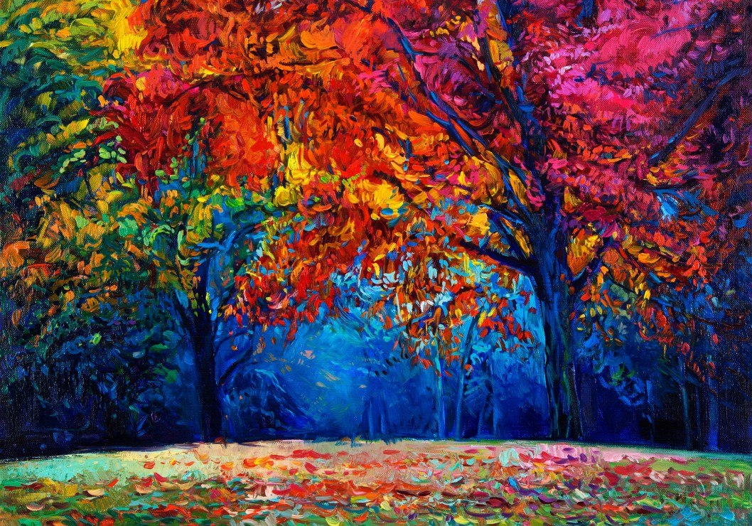 Fall Painting Wallpapers Puzzle For 234 T D Automne Grafika 01546 1000 Pi 232 Ces Puzzles