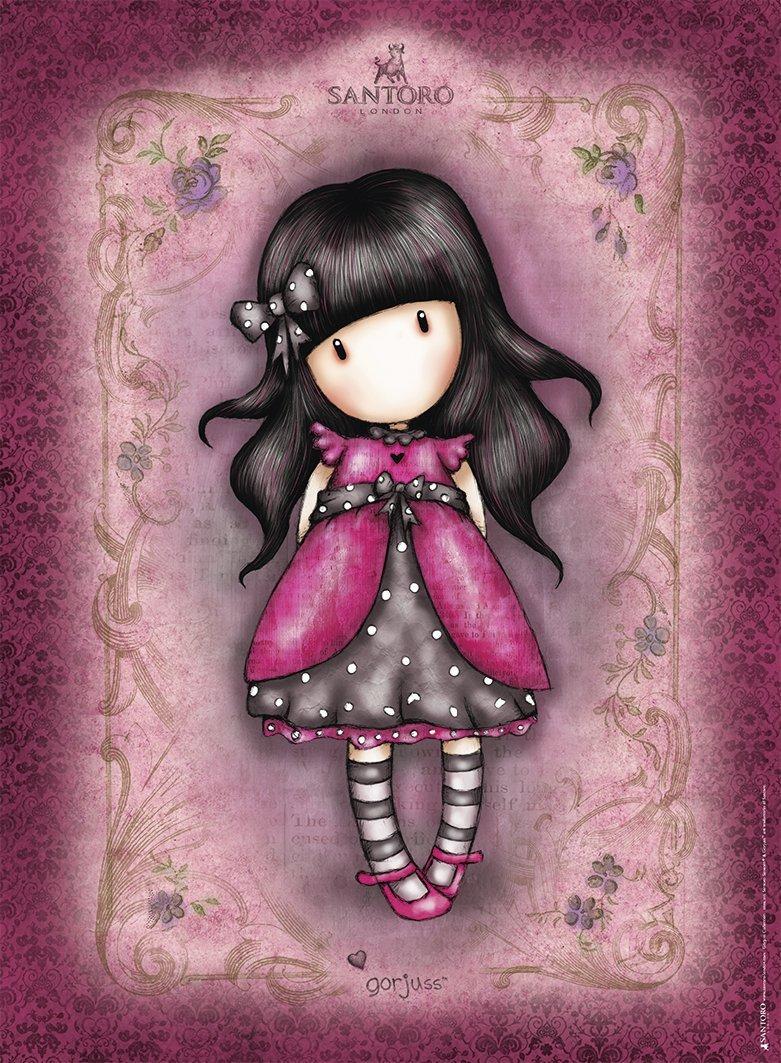 Stress Girl Wallpaper Puzzle Gorjuss Ladybird Ravensburger 14722 500 Pi 232 Ces