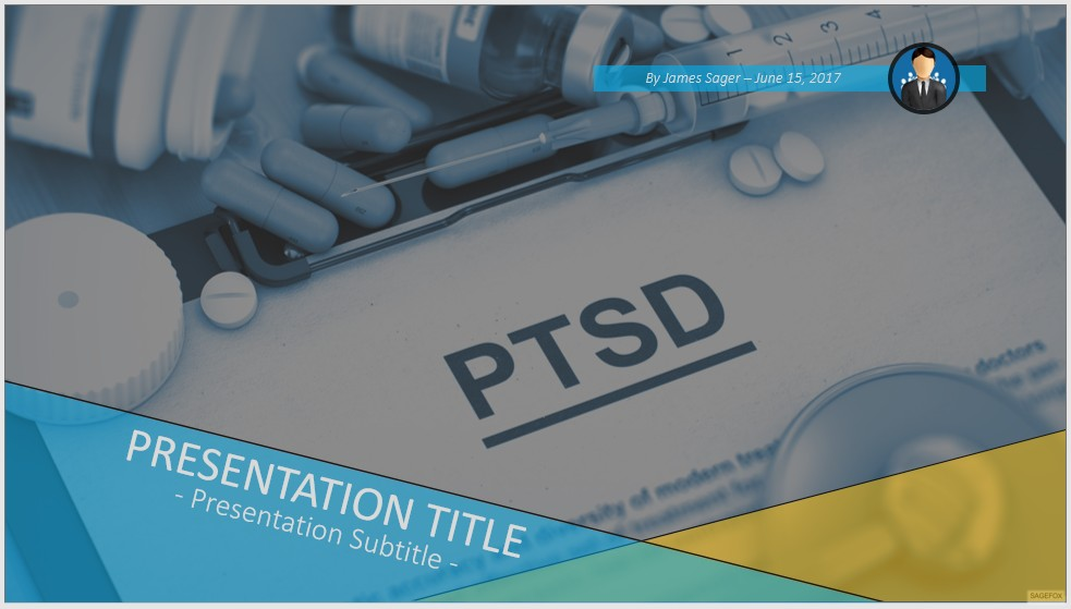 Free PTSD PowerPoint #48573 SageFox Free PowerPoint Templates