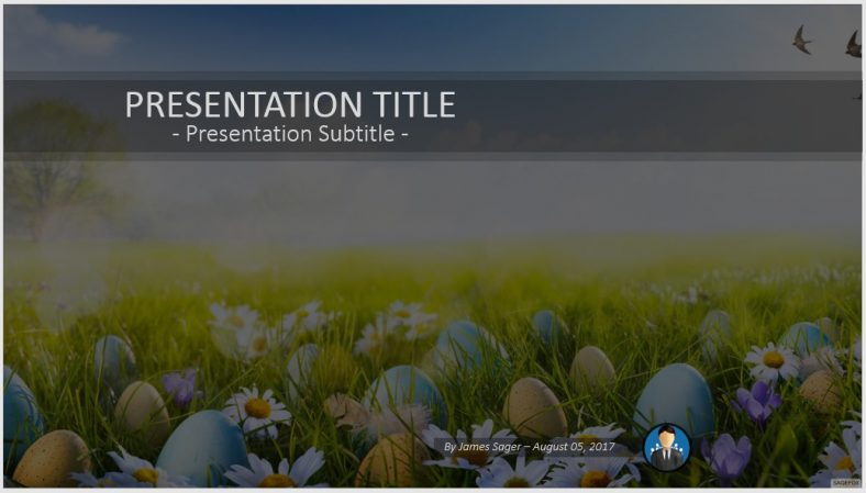 Free easter PowerPoint #76907 SageFox PowerPoint Templates