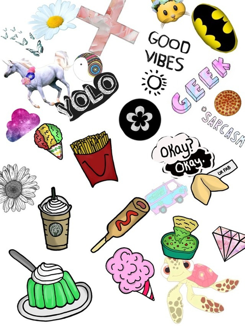 Cute Wallpaper Patterns Collage Tumblr Hipster Www Pixshark Com Images