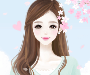 New Cute Baby Girl Wallpapers 90 Images About Korean Cartoons On We Heart It See More