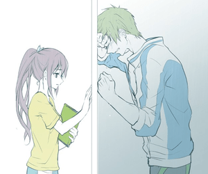 Wallpaper Girl Sad Alone 179 Images About Anime Boy Girl Crying On We Heart It