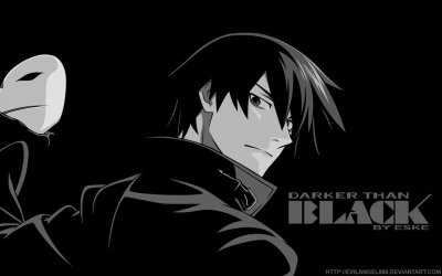 Darker Than Black Wallpaper by ~EvilAngel888 on deviantART | We Heart It | anime, darker than ...