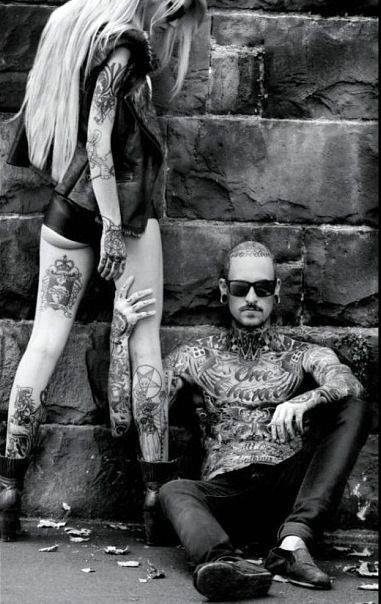 Beautiful Wallpapers Of Classic Girls Tattoo Couples Tattooed Love We Heart It Man Sexy