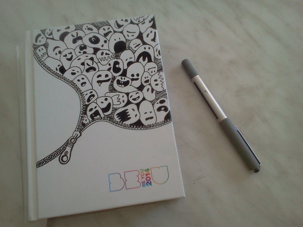 Be U Idee Il Mio Diario We Heart It Diary Black And Draw