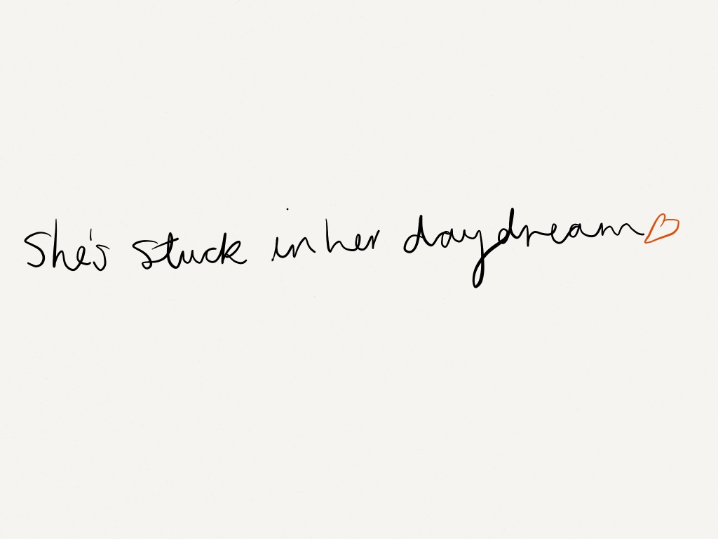 Sofa Lyrics By Ed Sheeran She S Stuck In Her Daydream Via Tumblr On We Heart It