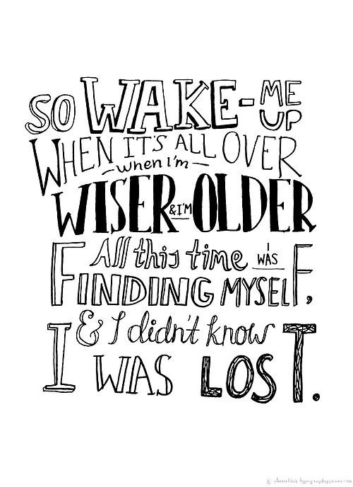 Khalid Song Quotes Wallpaper Wake Me Up Lyrics In Black N White