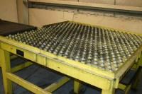 DEMPSET MACHINE HEAVY DUTY ROLLER BALL PRESS FEED TABLE ...
