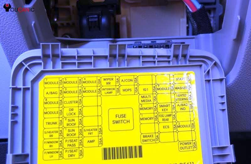 2011 Kenworth Fuse Box technical wiring diagram