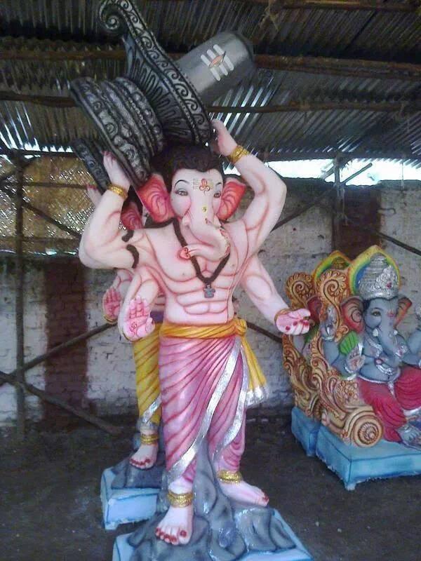 Salman Hd Wallpaper Ganesh Chaturthi Idols Inspired By Prabhas Baahubali
