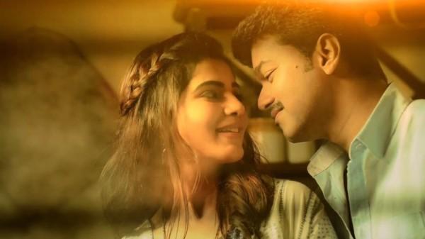 Happy Birthday 1080p Hd Wallpapers Mersal Vijay Samantha Stills From Neethanae Teaser