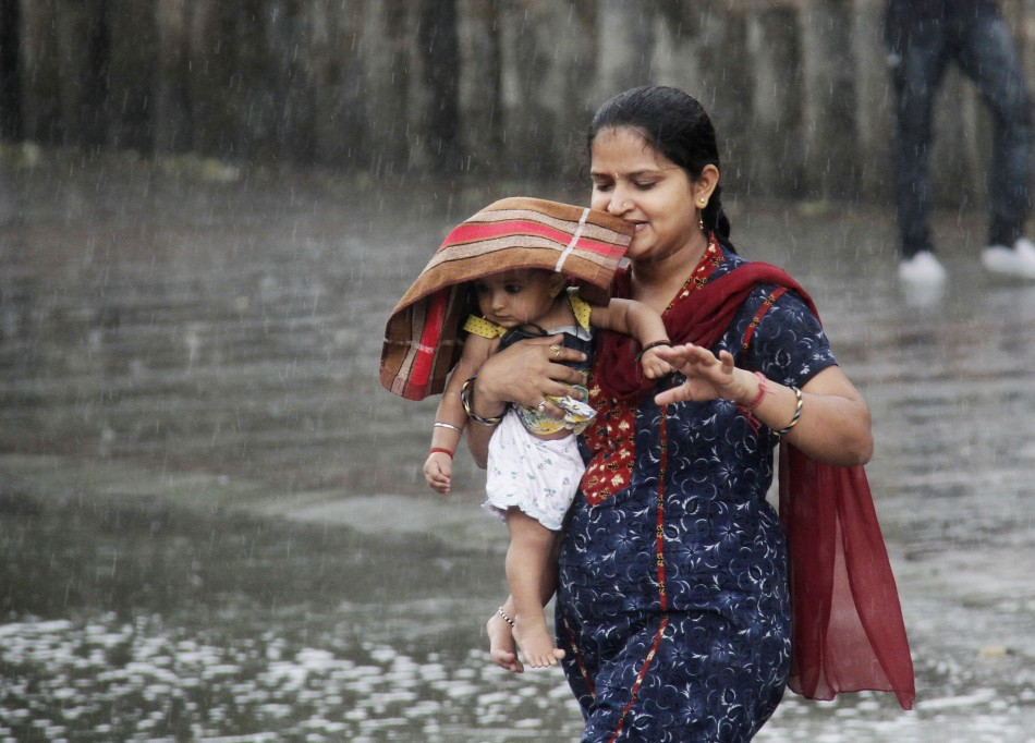 Indian Baby Girl Wallpaper Hd After Cyclone Phailin Incessant Rains Strike Andhra