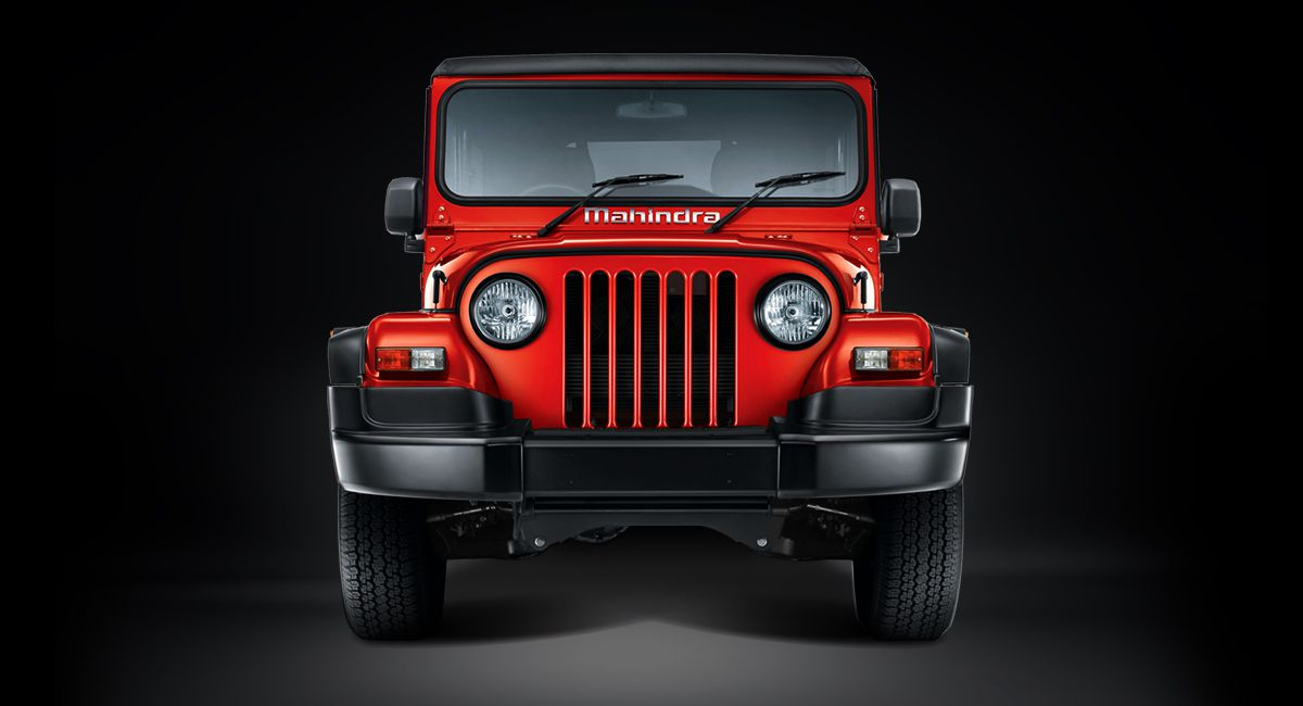 New Scorpio Car Wallpaper Hd All New Mahindra Thar With 1 5 Litre Diesel Engine In