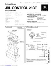 jbl control 25 installation manual