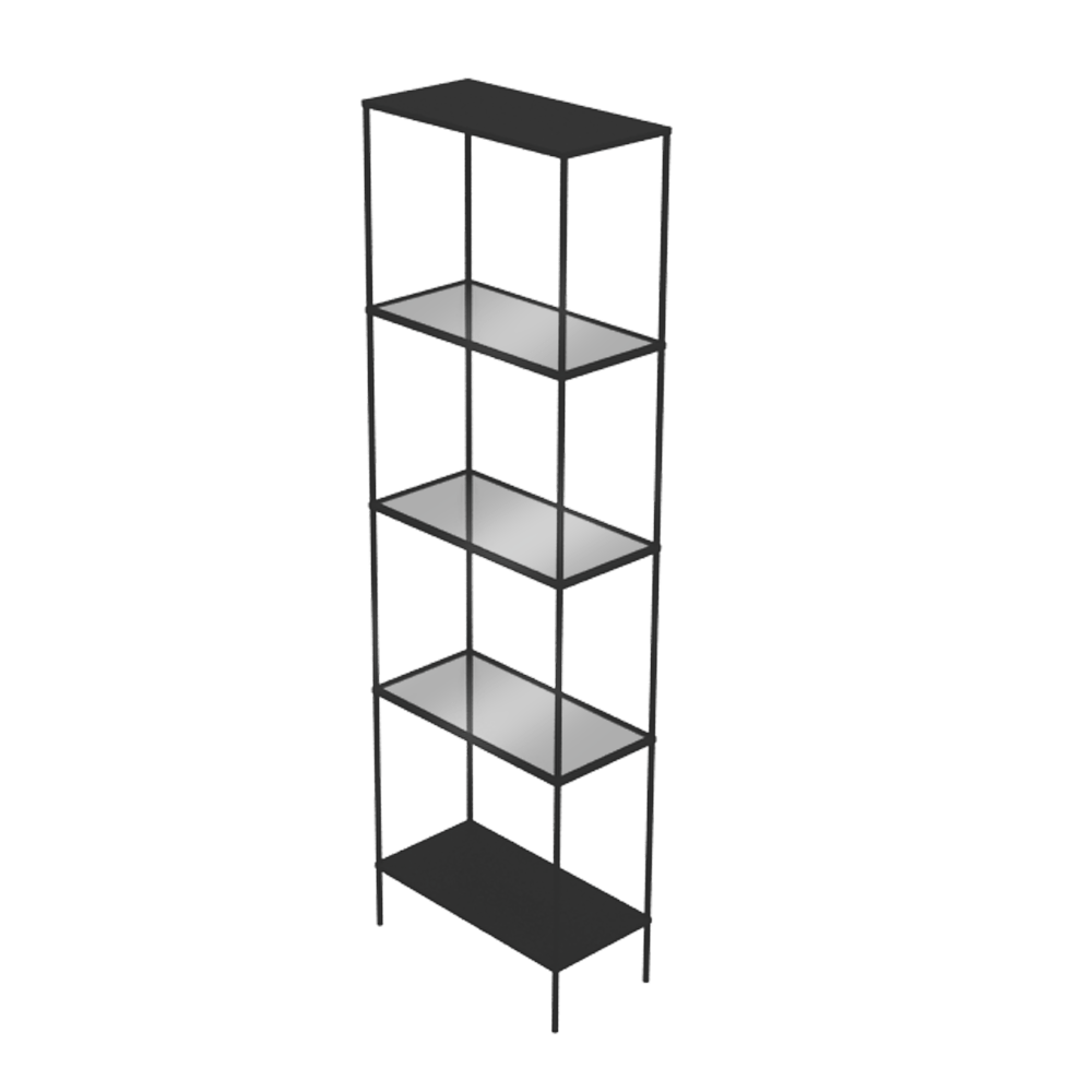Etagere Vin Ikea Cad And Bim Object - Vittsjo Shelf Variant - Ikea