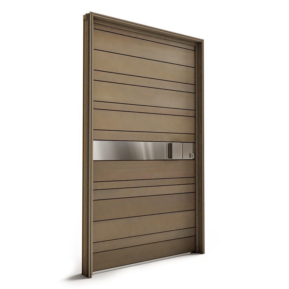 Bois Transparent Cad Und Bim Objekte Porte Entree Bois Nativ2 Cendree Marketplace