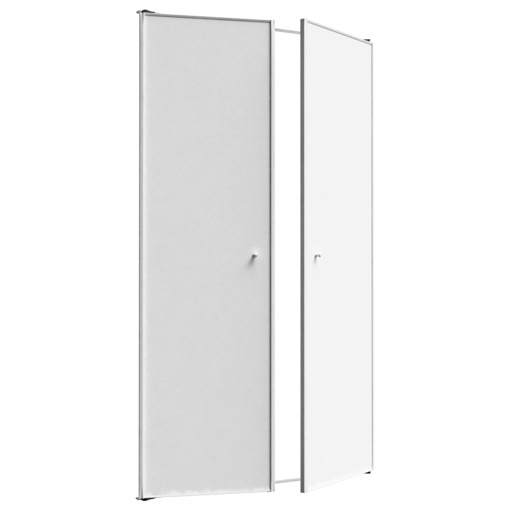 Porte De Placard Sogal Bim Object Façade Kendoors Plus 2 Portes Battantes Sogal