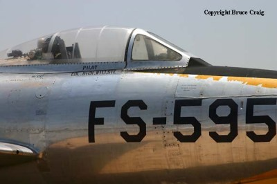 F-84C-16-RE (47-1595) Thunderjet Walk Around Page 4