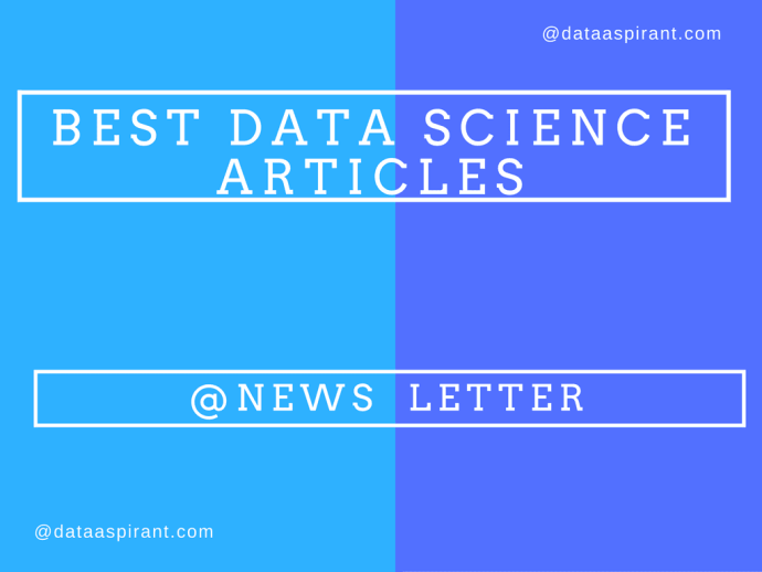 Best Data Science articles