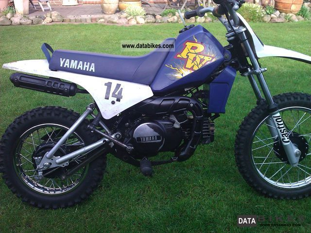 1996 Yamaha PW 80 With the signing of Ken Roczen!
