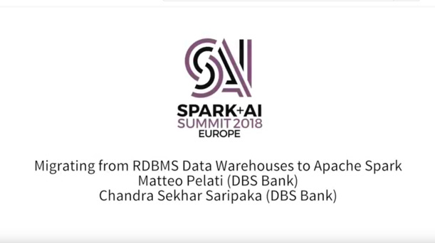 Migrating from RDBMS Data Warehouses to Apache Spark - Databricks