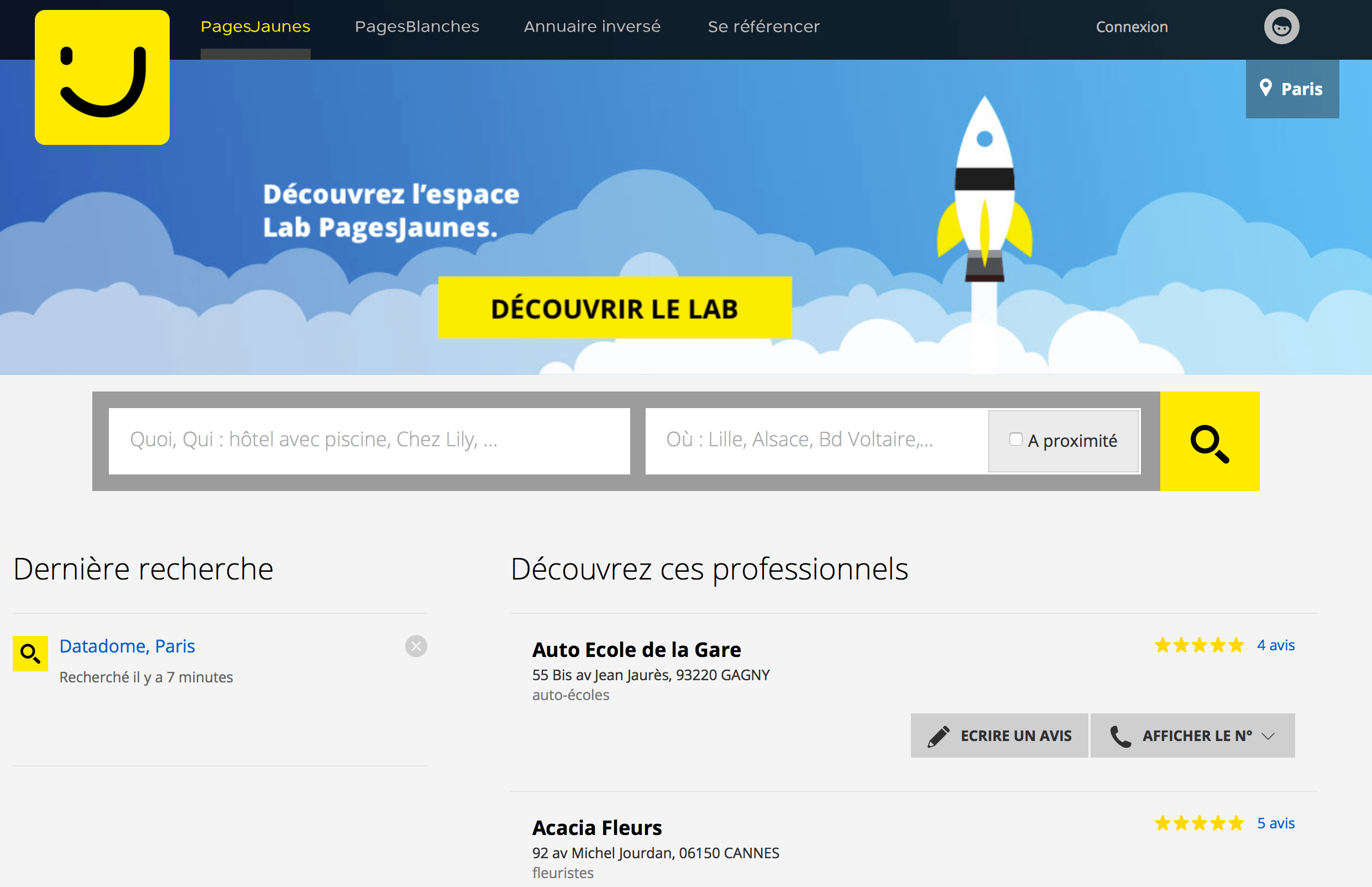 Pages Jaunes Pagesjaunes Fr Relies On Datadome S Expertise To Better Protect