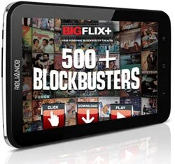 Reliance 3G Tab with BigFlix Plus