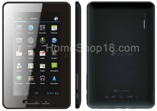 Micromax Android 4.0 ICS Tablet P-300