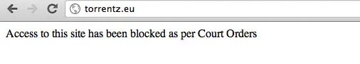 Airtel Broadband ISP blocking torrent Sites