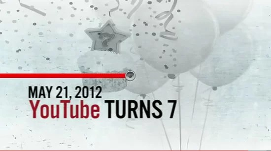YouTube Celebrates its 7th Birthday