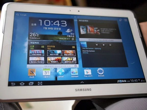 Samsung Galaxy Note 10.1 Got Leaked, 1.4GHz Quad-Core And 2GB RAM