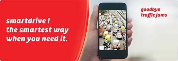 Airtel launches SmartDrive app with Real Time Traffic Info and Voice Guided Navigation