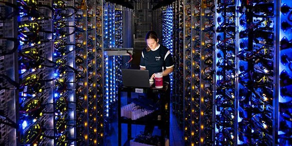 Look inside the mighty data centers of Google, Where The Internet Lives
