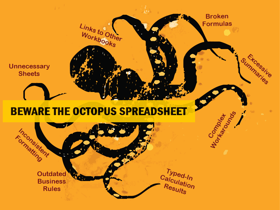 Beware the Octopus Spreadsheet
