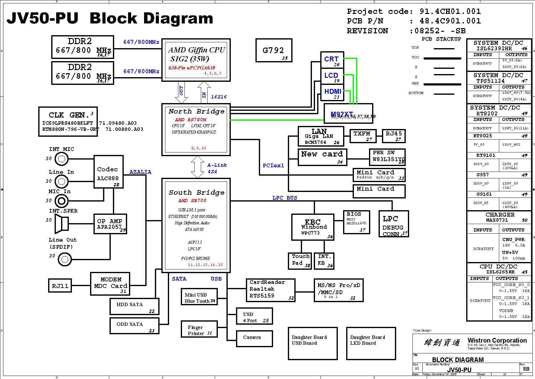 acer tablet diagram