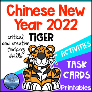 Chinese New Year 2018 Task Cards and Worksheets Year of the Dog