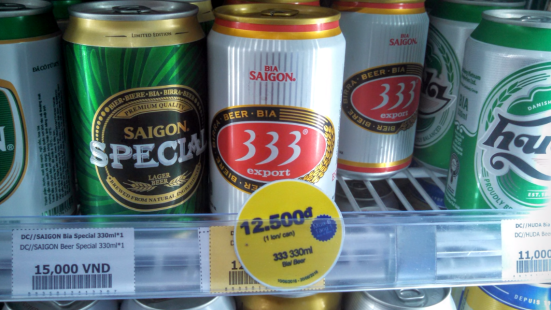 333 Beer Price In Ho Chi Minh City