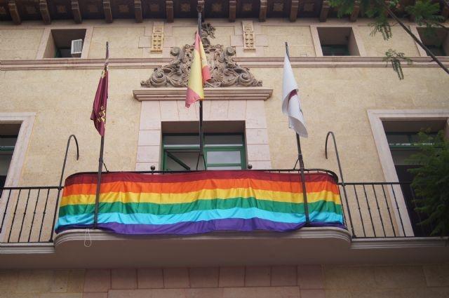 Totana hace una defensa institucional en apoyo del Colectivo LGTBI con motivo de la celebración del Día Internacional del Orgullo LGTBI, que se celebra el próximo 28 de junio