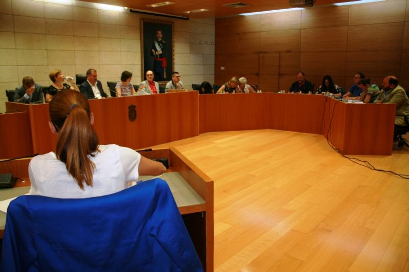 El Pleno manifiesta su apoyo institucional a la Comunidad de Regantes de Totana para la concesión de 700.000 metros cúbicos de agua regenerada procedente de la EDAR de este municipio